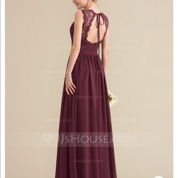 jjs house Dresses & Skirts - Burgundy colored bridesmaid dress. NWT